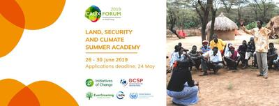 Land, Security and Climate Summer Academy
