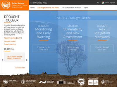 UNCCD drought toolbox