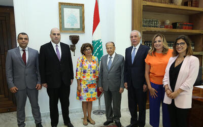 Monique Barbut visits Lebanon