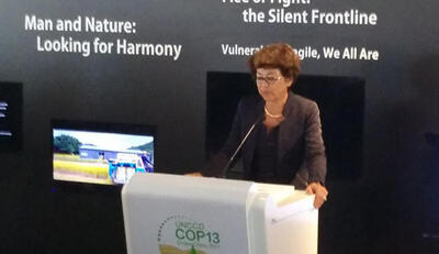 Monique Barbut at COP13