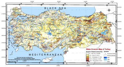 turkey water erosion map