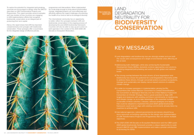 GM CBD report on biodiversity conservation