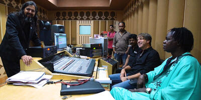 Land Anthem studio recording