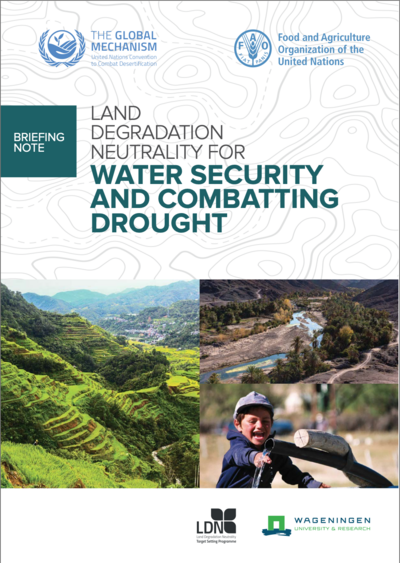 water security report cover