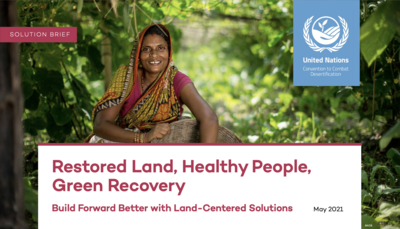 Restored Land, healthy people, green recovery